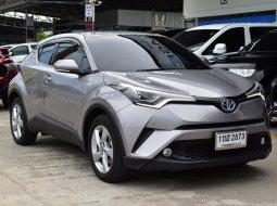 2018 Toyota C-HR 1.8 (ปี 17-21) HV Mid SUV ไมล์น้อย 64,000 Km.