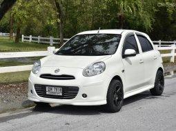 2010 Nissan MARCH 1.2 E รถเก๋ง 5 ประตู รถบ้านแท้