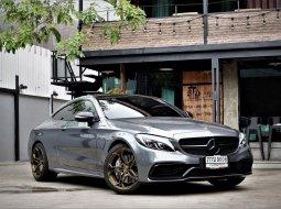 2018 Mercedes-Benz C43 3.0 AMG 4MATIC 4WD สีเทา แต่งเต็มแน่นๆ