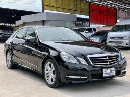 2012 BENZ E-CLASS, E250 1.8 CGI โฉม W212 สีดำรถสวยจัด