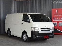 2014 Toyota HIACE 3.0 D4D รถตู้/MPV ออกรถฟรีดาวน์