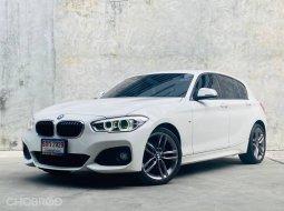 BMW 118i  2016 โฉม F20 รถศูนย์ ไมล์ 2x,xxx km bsi ยังเหลือ