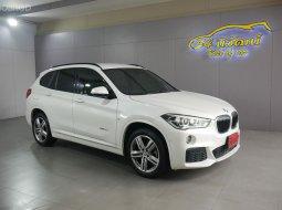 BMW X1 SDRIVE20D M SPORT 2.0 190HP สีขาว 2019 AT ดีเซล