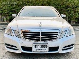 2012 Mercedes-Benz E250  รถเก๋ง 4 ประตู ดาวน์ 0% ได้เลยค่ะ