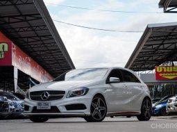 2013 Mercedes-Benz A250 2.0 Sport  รถศูนย์ Benz Thailand ไมล์น้อย ประวัติดี
