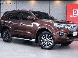 2019 Nissan Terra 2.3 V SUV AT Option ภายนอกสีน้ำตาล (Earth Brown) ภายในโทนสีดำ ตัวรถครบ รถยังอยู่ในการรับประกันจากศูนย์ Nissan B7752