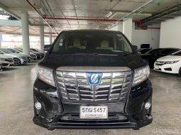 2016 Toyota ALPHARD 2.5 HV 4WD รถตู้/MPV ออกรถง่าย