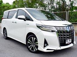 รถศูนย์โตโยต้า วิ่ง 4 หมื่นโล หาไม่ได้อีกแล้ว Toyota Alphard 2.5 Hybrid SRC E-FOUR ปี 2018