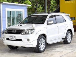 Toyota Fortuner 3.0V 4WD Smart 2008 เกียร์ออโต้ 💥เครดิตดี ฟรีดาวน์ ออกรถ0บาท🔥