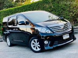 2010 Toyota ALPHARD 2.4 V รถตู้/MPV รถสวย
