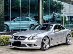 Mercedes SL55 AMG  2005 เครื่องยนต์ V8 Kom 5.5 ลิตร 493 แรงม้า รถเปิดประทุน รถสวย
