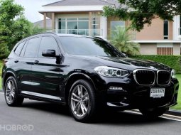 2019 BMW X3 2.0 xDrive20d M Sport SUV รถบ้านมือเดียว