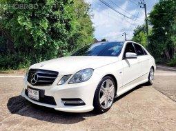 ขายด่วน Mercedes Benz E200 CGI Saloon ปี 2012 ไมล์เพียง 80,000