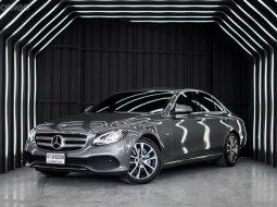 Benz E350e Plug In Avantgarde ปี 2017 จุดเด่นคันนี้ รถมือเดียวป้ายแดง เซอร์วิสศูนย์ตลอด
