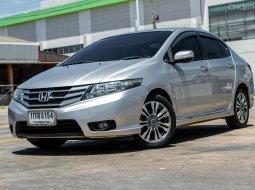 ขายรถบ้าน ปี2012 Honda CITY 1.5 SV i-VTEC รถเก๋ง 4 ประตู ดาวน์ 0%