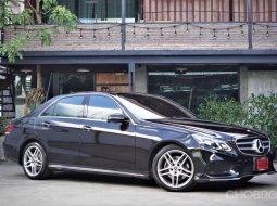 2014 Mercedes-Benz E300 2.1 AMG Dynamic Blue TEC HYBRID รถเก๋ง 4 ประตู เจ้าของขายเอง