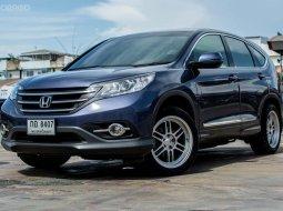 รถมือสอง 2013 Honda CR-V 2.0 E 4WD SUV รถบ้านฟรีดาวน์ มีรับประกันหลังการขาย