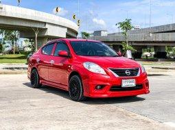 2012 Nissan Almera 1.2 E รถเก๋ง 4 ประตู รถบ้านแท้