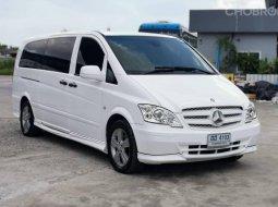 2012 BENZ VITO, 115 CDI COM EX LONG W639 โฉม ปี06-ปัจจุบัน สีขาว ไมล์แท้ 155,xxx km.