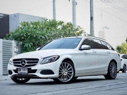 2016 Mercedes-Benz C350e Estate AMG Dynamic รถเก๋ง 5 ประตู รถบ้านมือเดียว