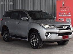 2018 Toyota Fortuner 2.4 V 4WD SUV รถบ้านมือเดียว