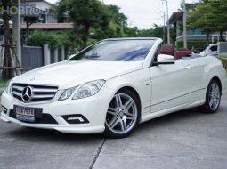 2011 Mercedes-Benz E250 CGI AMG 1.8 Avantgarde Sports Cabriolet รถสภาพดี มีประกัน