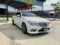 ขายรถมือสอง Mercedes Benz E200 CGI COUPE (W207) | ปี : 2012