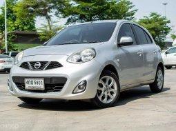 2012 Nissan MARCH 1.2 V รถเก๋ง 5 ประตู รถสภาพดี มีประกันหลังการขาย