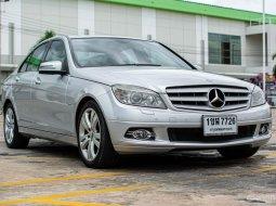 2008 Mercedes-Benz C200 Kompressor 1.8 รถเก๋งสวยราคาถูกรับประกัน 1ปรหรือ10,000กิโลเมตร 4 ประตู