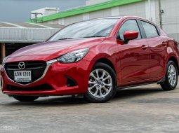 ปี 2015 Mazda 2 1.5 XD High A/T สีแดง รถเก๋ง 4 ประตู ฟรีดาวน์