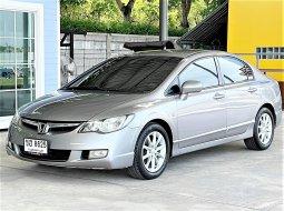 Honda Civic FD สวยๆเดิมๆ ทั้งคัน ไม่มีชน รับประกัน ไมล์น้อย รถยนต์มือสองคุณภาพดีดี ไม่เคยติดแก็ส เติม E20 ได้ประหยัดมาก