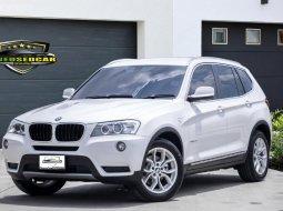 2013 BMW X3 2.0D ดีเซล Highline 4WD โช๊คไฟฟ้า ฝาท้ายไฟฟ้า ออฟชั่นเต็ม