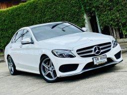 2016 Mercedes-Benz C300  ออกรถง่าย ดาวน์ถูก รถสวยมาก