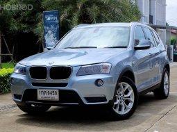 2013 BMW X3 2.0 xDrive20d Highline 4WD SUV รถสวย