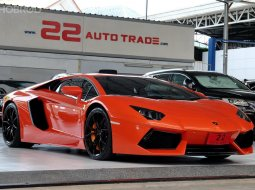 Supercar Lamborghini Aventador LP700-4 หายากมากตัวนี้ ขับน้อย เจ้าของขายเอง