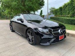 2019 Mercedes-Benz E200 2.0 AMG Dynamic รถเก๋ง 2 ประตู รถบ้านมือเดียว