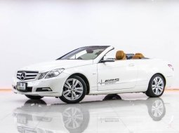 1S-198 BENZ E250 CGI BECARBRIOLET เกียร์ AT ปี 2011