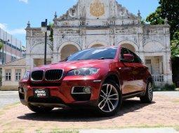 📌BMW X6 3.0 E71 xDrive30d 4WD AT สีแดง เกียร์อัตโนมัติ  ปี 2012