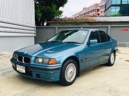 1999 BMW 318iA  แค่ 99,000 บาท ไมล์แสนสอง สวยพร้อมใช้  เครื่องยนต์เกียร์ช่วงล่างดี แอร์เย็นฉ่ำ