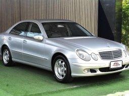 Benz W211 E220 CDI ดีเซล แรงทนถึก ประหยัดจริง สุดคุัมค่า