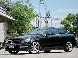 2012 Mercedes-Benz C250 1.8 Avantgarde รถเก๋ง 2 ประตู รถสวย
