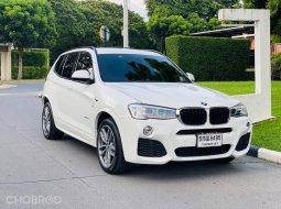 2017 BMW X3 2.0 xDrive20d 4WD รถบ้านมือเดียว