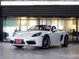 2017 Porsche 718 Boxster PDK รถเปิดประทุน