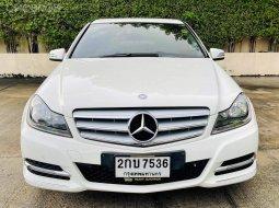 Mercedes-Benz C180 1.8 Avantgarde ปี 2012  ดาวน์ 0% ได้เลยค่ะ