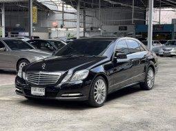 2011 Mercedes-Benz E200 CGI 1.8 Elegance รถเก๋ง 4 ประตู ออกรถ 0 บาท