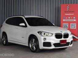 2017 BMW X1 2.0 sDrive18d M Sport SUV ฟรีดาวน์