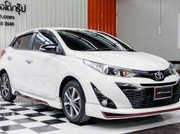 🔥ฟรีทุกค่าดำเนินการ🔥 2018 Toyota YARIS 1.2 G+ รถเก๋ง 5 ประตู ออกรถง่าย