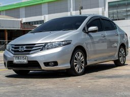 2012 Honda CITY 1.5 SV รถเก๋ง 4 ประตู รถบ้านแท้ ไม่มีอุบัติเหตุบริการส่งฟรีถึงที่