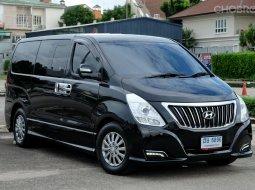 รถตู้มือสอง รถครอบครัว11ที่นั่ง รถผู้นำ Hyundai H1 Deluxe ตัวไมเนอร์ มือเดียว สภาพสวย