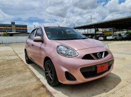 2017 Nissan MARCH 1.2 S รถเก๋ง 5 ประตู รถสวย